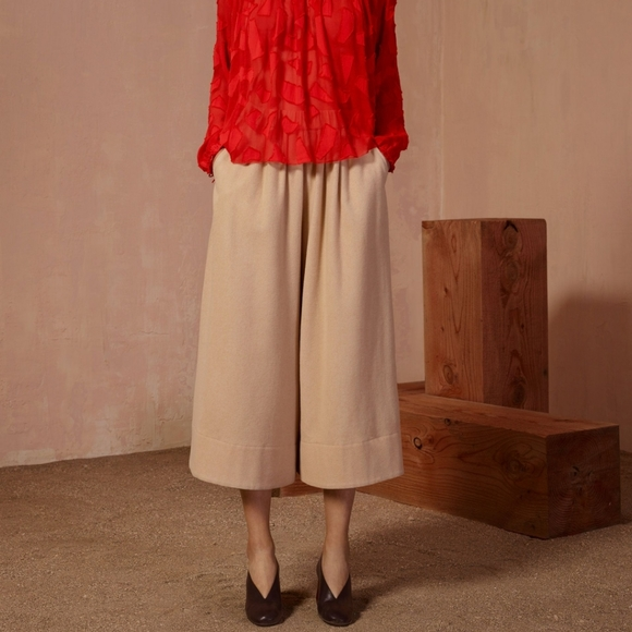Wilfred Le Fou Wool/Cashmere Culotte